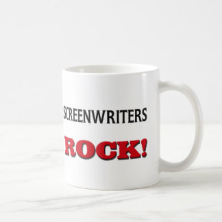Screenwriters Rock Coffee Mug