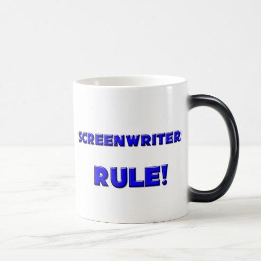 Screenwriters Rule! Mug