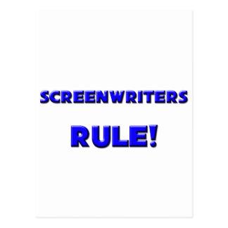 Screenwriters Rule! Postcard