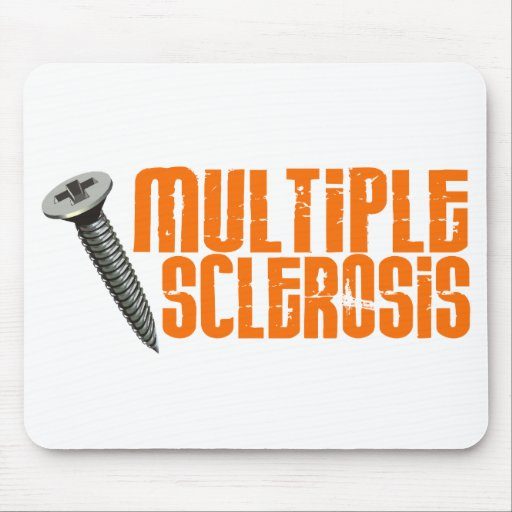 Screw 2 Multiple Sclerosis MS Mouse Pad
