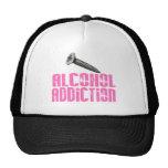 Screw Alcohol Addiction Pink Trucker Hat