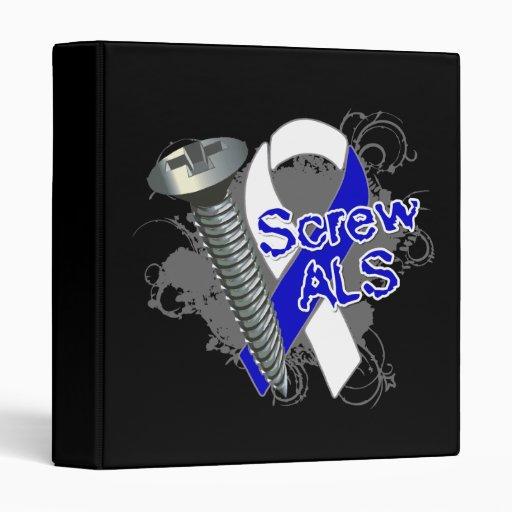 Screw ALS 3 Ring Binder