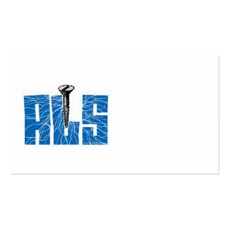 Screw ALS Business Card