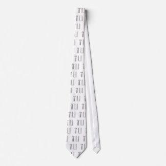 screw and u neck tie