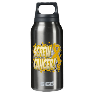 Screw Appendix Cancer Comic Style SIGG Thermo 0.3L Insulated Bottle