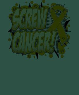 Screw Appendix Cancer Comic Style T-shirts