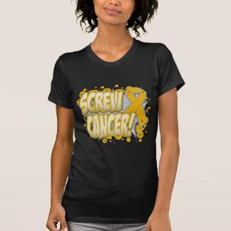 Screw Appendix Cancer Comic Style Tshirts