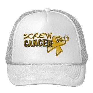 Screw Appendix Cancer Trucker Hat