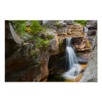 Screw Auger Falls, Maine Poster