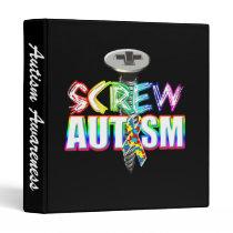 Screw Autism Binder