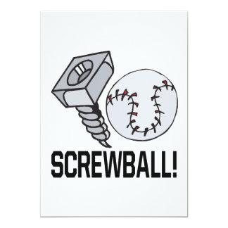 Screw Ball Card