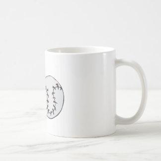 Screw Ball Classic White Coffee Mug