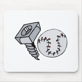 Screw Ball Mouse Pad