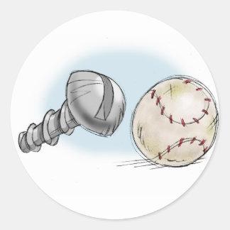 screw ball sticker