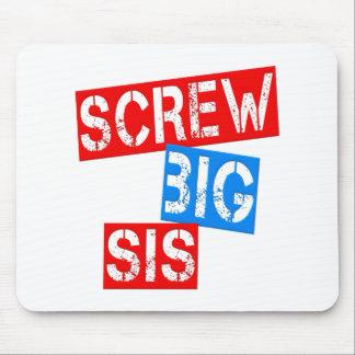Screw Big Sis Mouse Pad