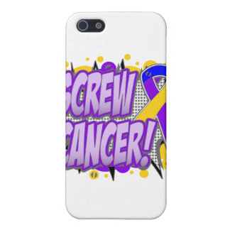 Screw Bladder Cancer Comic Style iPhone 5 Covers