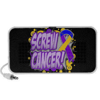 Screw Bladder Cancer Comic Style PC Speakers