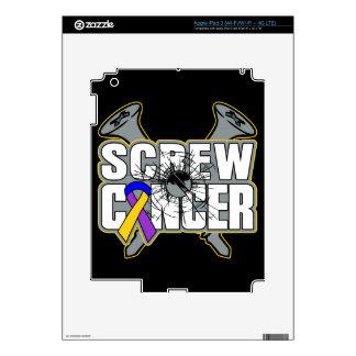 Screw Bladder Cancer iPad 3 Decals