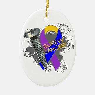 Screw Bladder Cancer Christmas Ornament