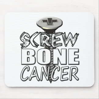 Screw Bone Cancer Mouse Pad
