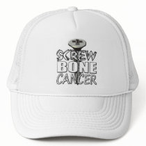 Screw Bone Cancer Trucker Hat