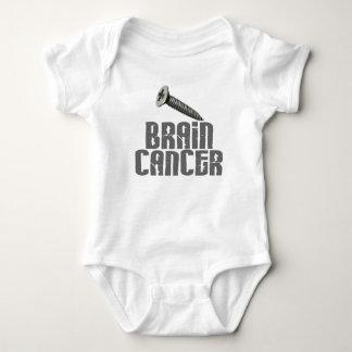 SCREW Brain Cancer 1 Baby Bodysuit