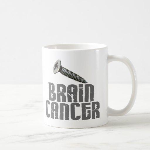 SCREW Brain Cancer 1 Coffee Mug