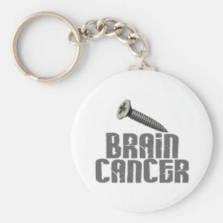 SCREW Brain Cancer 1 Keychain
