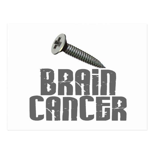 SCREW Brain Cancer 1 Postcard