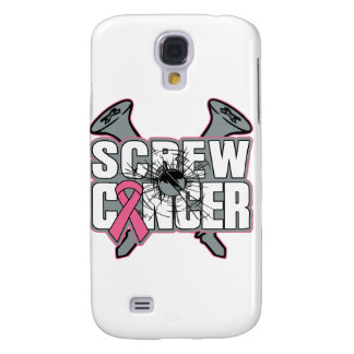 Screw Breast Cancer Galaxy S4 Case