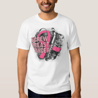 Screw Breast Cancer T Shirt