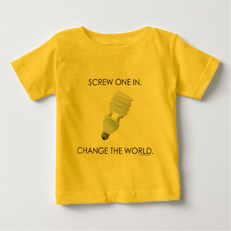 Screw Bulb Baby Shirts