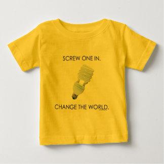 Screw Bulb Baby Shirts