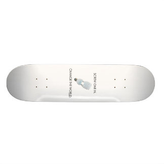Screw Bulb Skateboard Deck