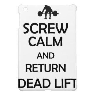 screw calm and return dead lift iPad mini covers