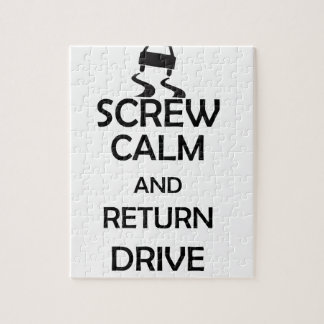 screw calm and return drive puzzles
