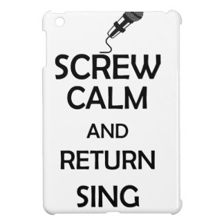 screw calm and return sing cover for the iPad mini