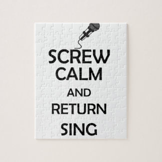 screw calm and return sing puzzle