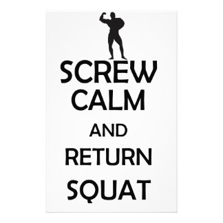 screw calm and return squat stationery