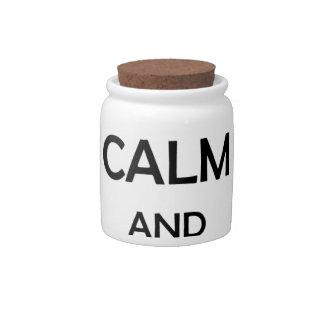screw calm and return win candy jar