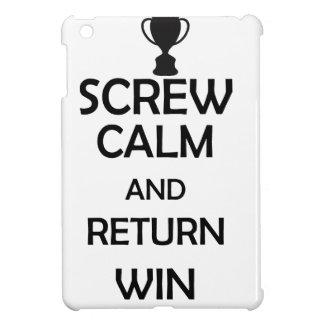 screw calm and return win cover for the iPad mini