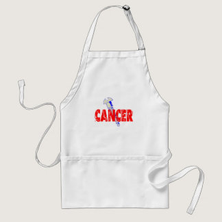 Screw Cancer Adult Apron