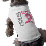Screw Cancer - Breast Cancer Pet Clothes