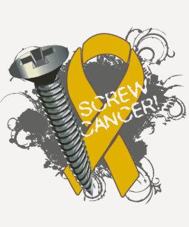 Screw Cancer - Grunge Appendix Cancer Shirts
