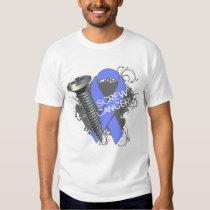 Screw Cancer - Grunge Esophageal Cancer T-shirt
