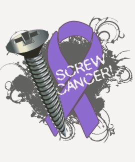 Screw Cancer - Grunge Hodgkin's Lymphoma T-shirts