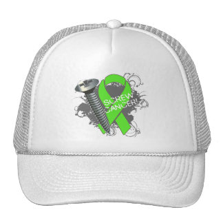 Screw Cancer - Grunge Non-Hodgkins Lymphoma Trucker Hat