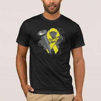Screw Cancer - Grunge Sarcoma T-Shirt