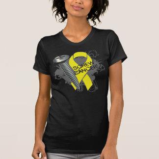 Screw Cancer - Grunge Sarcoma Tee Shirt