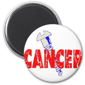 Screw Cancer Magnet